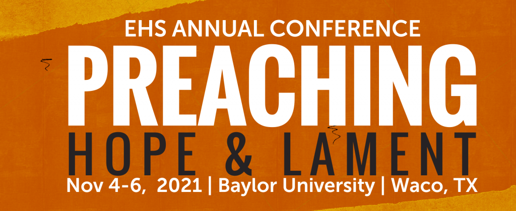 preaching hope and lament conference